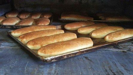 Fresh baked bread only, never frozen.