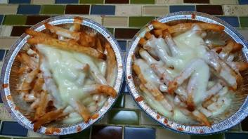 Cheese fries.