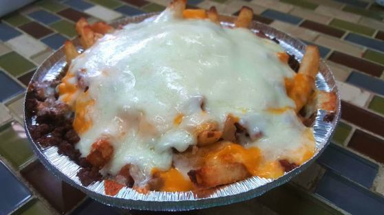 Antonio's special fries.
